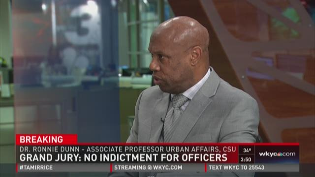 Dr. Ronnie Dunn speaks on legal, political divide on Tamir Rice case