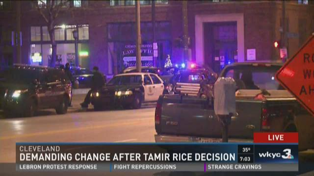 Demanding change after Tamir Rice decision
