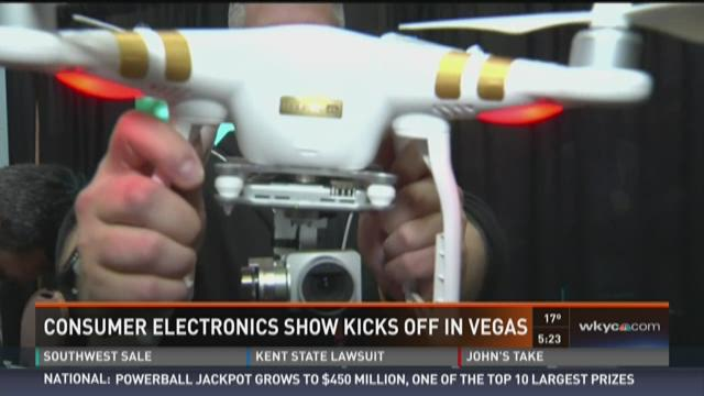 Inside the Consumer Electronics Show In Vegas