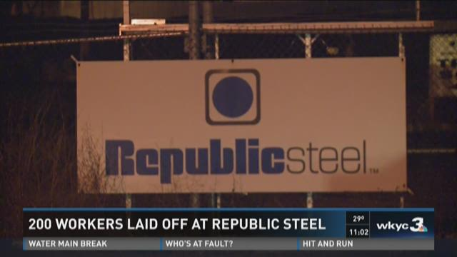 Republic Steel to lay off 200 workers in Lorain