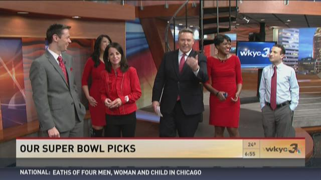 WKYC morning team makes Super Bowl 50 predictions