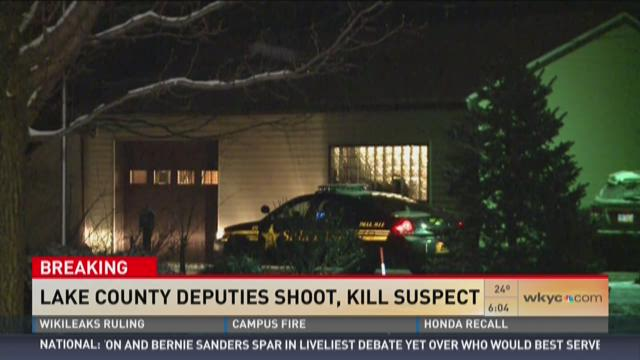 Lake County deputies shoot, kill suspect