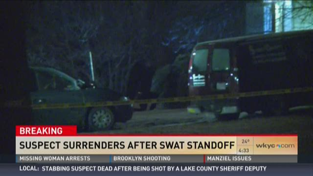 Man surrenders in SWAT standoff
