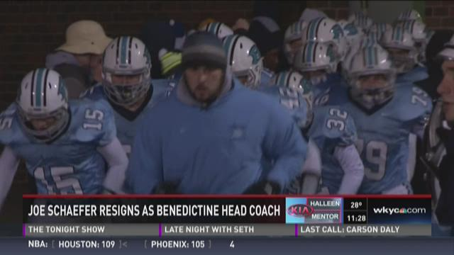 HS Football: Benedictine coach resigns