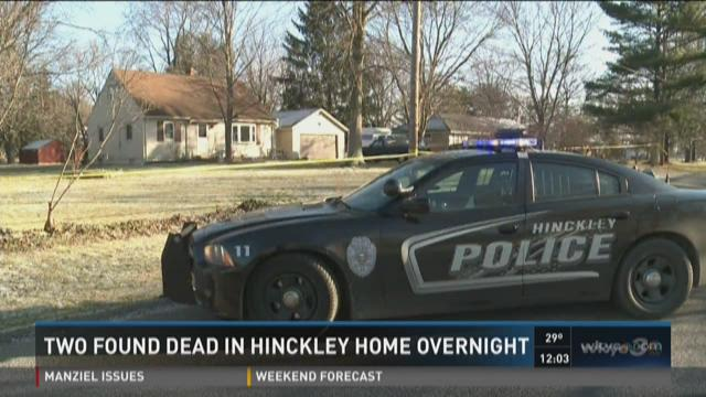 Two found dead in Hinckley Township
