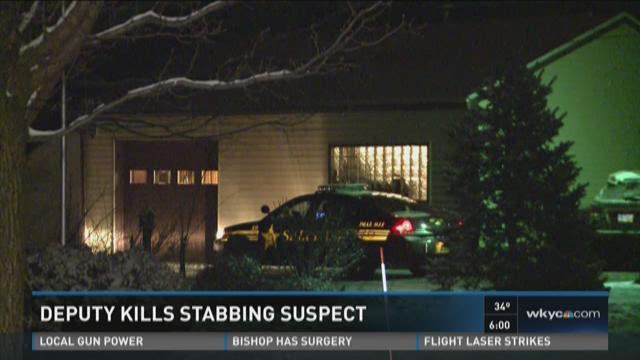 Deputy kills stabbing suspect