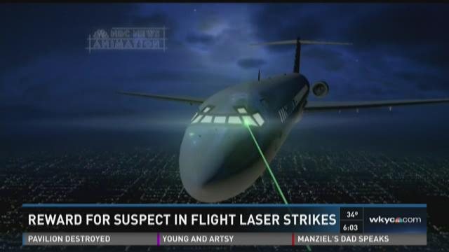 Laser strikes at Hopkins Airport