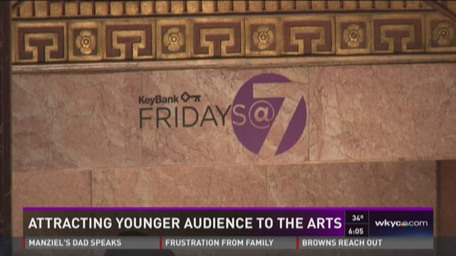 Attracting younger audience to the arts