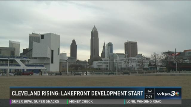 Cleveland rising: Lakefront development