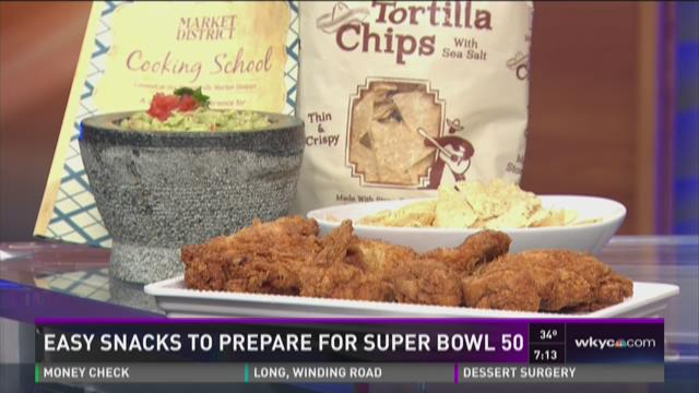 Easy snacks to prepare for Super Bowl