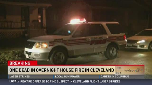 Man dies after overnight house fire