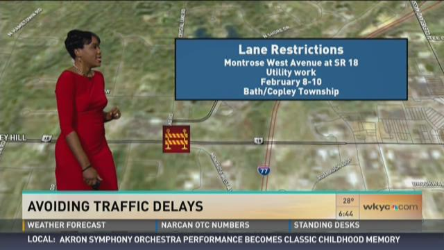 WEEKEND TRAFFIC | Expect delays