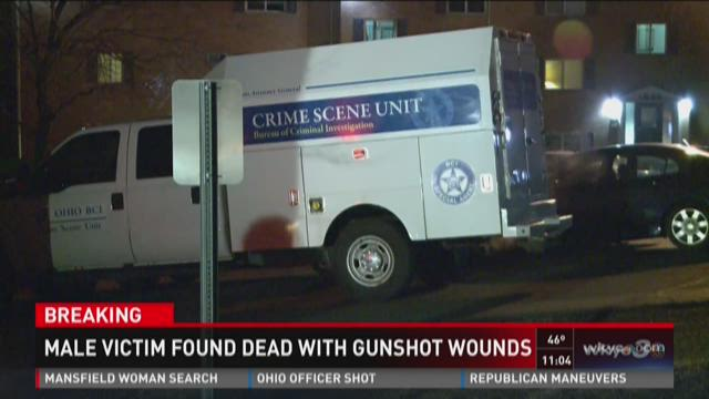 Male victim found dead with gunshot wounds