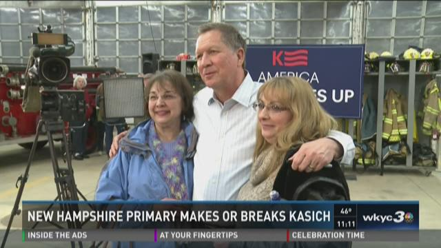 New Hampshire primary makes or breaks Kasich