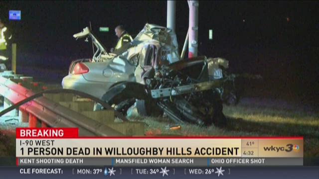 1 person dead in Willoughby Hills accident