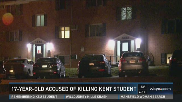 17-year-old accused of killing Kent student