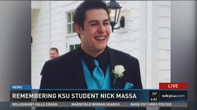 Remembering KSU student Nick Massa