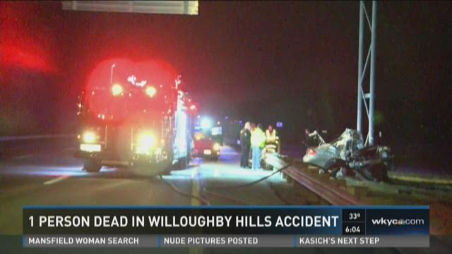 1 dead in Willoughby Hills accident