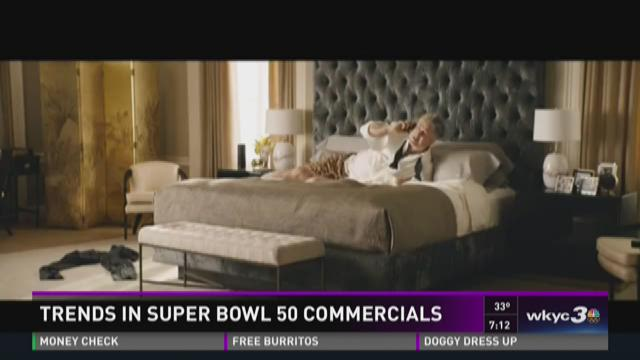 Trends in Super Bowl 50 commercials