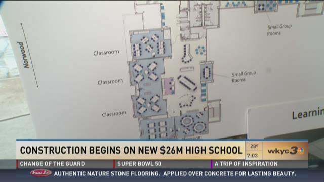 Construction begins on new $26M high school