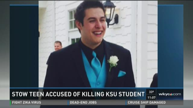 Stow teen arrested for Kent student's death