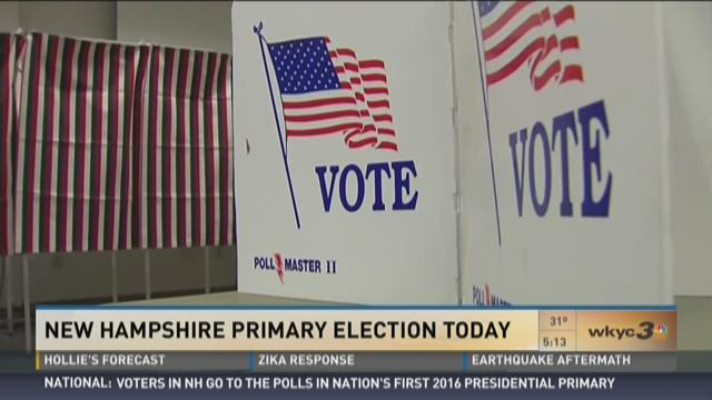 New Hampshire Primary Election Today