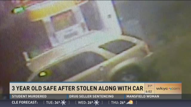 3 Year Old Safe After Car Stolen