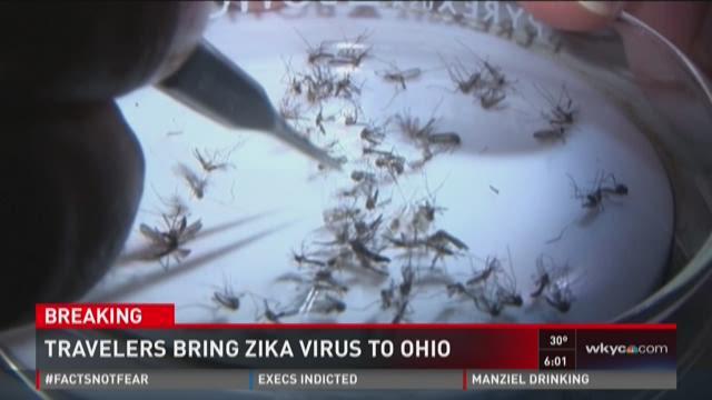 Traveler brings Zika virus to Ohio