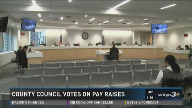 County council votes on pay raises