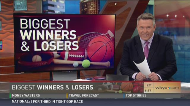 Biggest Winners for Wednesday February 10, 2016