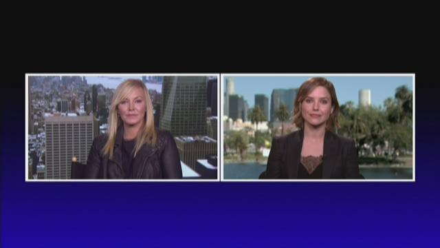 Sophia Bush & Kelli Gibbish- NBC�s Chicago P.D & Law & Order SVU Crossover Episode 2.10.16