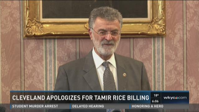 Cleveland apologizes for Tamir Rice billing
