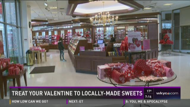 Treat your valentine to locally made sweets