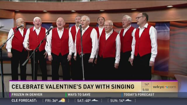 Celebrate Valentine's Day with singing