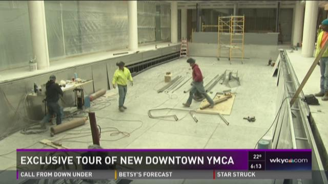 Exclusive tour of new downtown YMCA