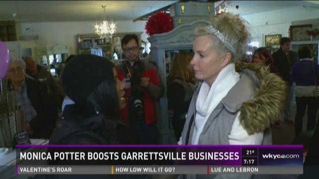 Monica Potter boosts Garrettsville businesses
