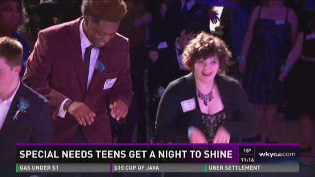 'Night to Shine' celebrates teens with special needs