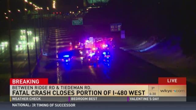 TRAFFIC ALERT | I-480 West closed due to accident