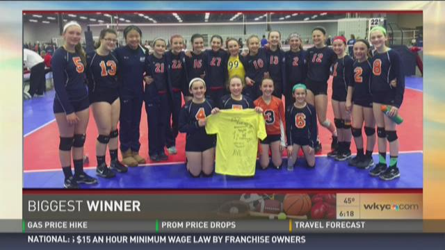 Biggest Winners: The Girls of the Academy Volleyball Cleveland