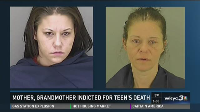 Mother, grandmother indicted in teen's death