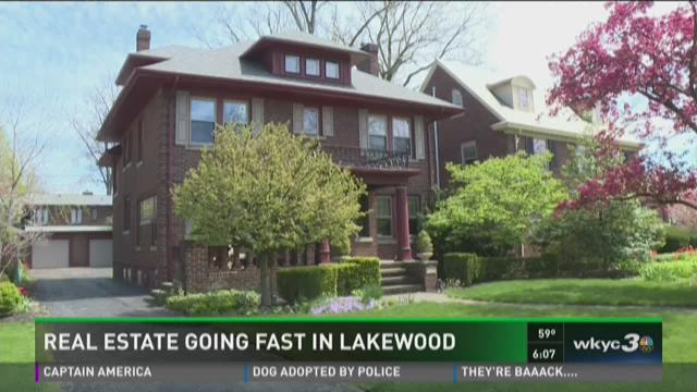 Real estate going fast in Lakewood
