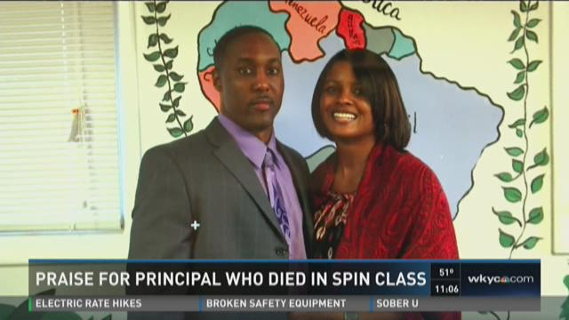 Praise for Bedford principal who died in spin class