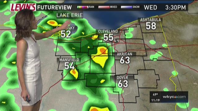 11 p.m. weather forecast for May 3, 2016