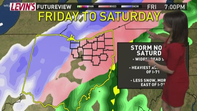 Warmer temperatures, freezing rain could cause flooding this weekend