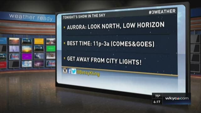 6 p.m. weather forecast for June 34, 2015