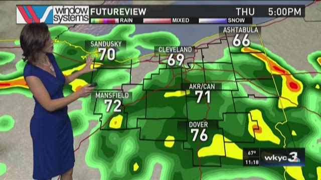 11 p.m. weather forecast for June 24, 2015