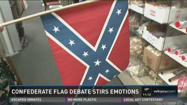 Confederate flags to sell or not to sell