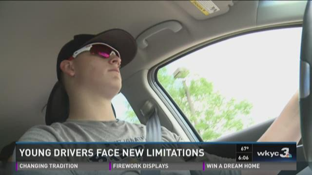 Young drivers face new limitations