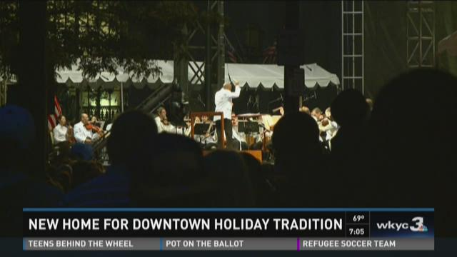 New home for Downtown holiday tradition