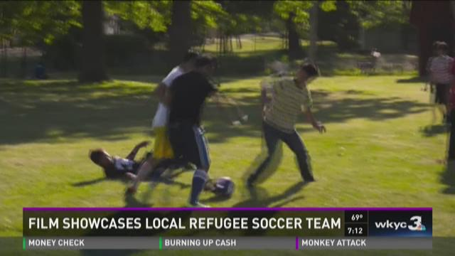 Film showcases local refugee soccer team